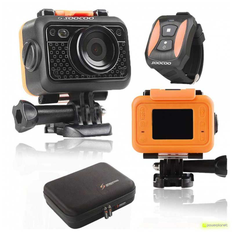 SOOCOO S60 HD Wifi sports camera - Powerplanetonline.com - Item1