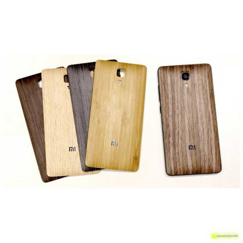 Tampa traseira efeit madeira Xiaomi mi4