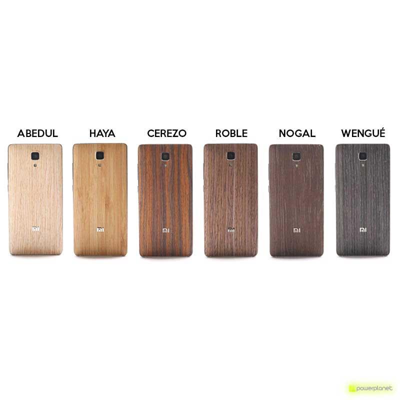 Capa traseira madeira Xiaomi mi4 - Item1
