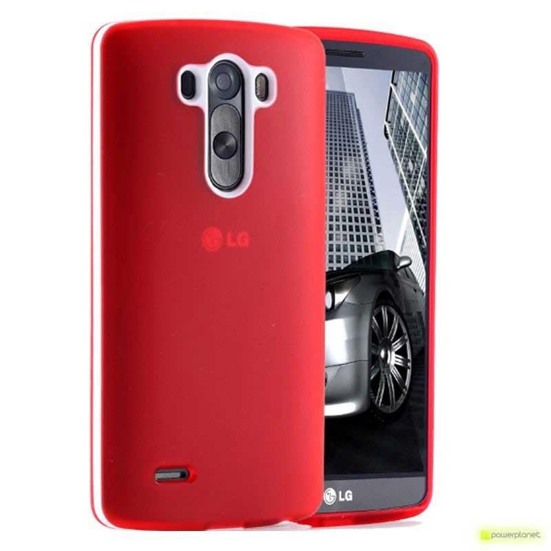 Capa de Silicone LG G3 - Item1