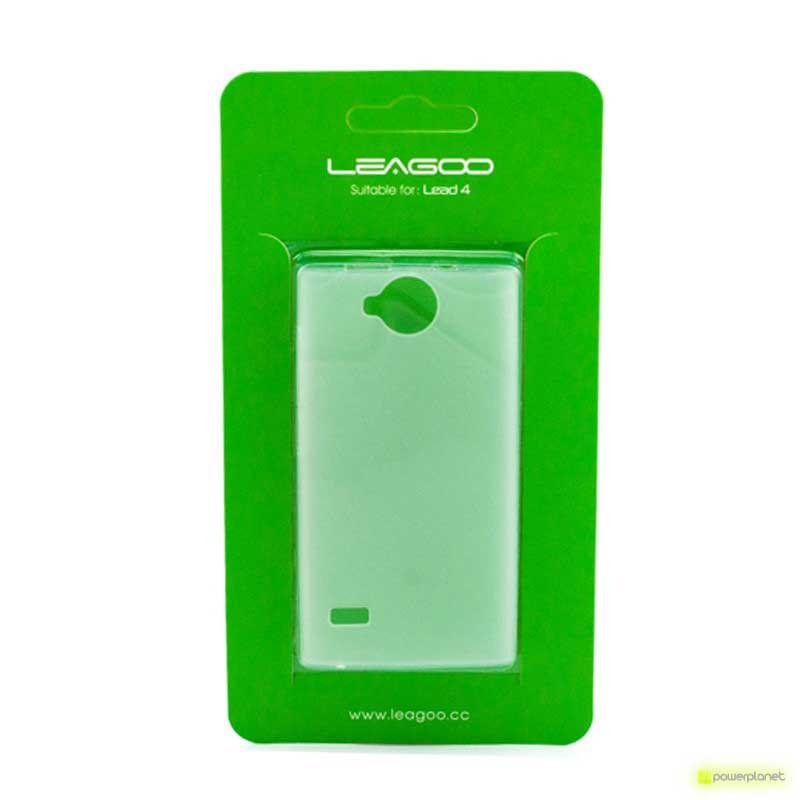 Carcasa Trasera de Silicona Leagoo Lead 4