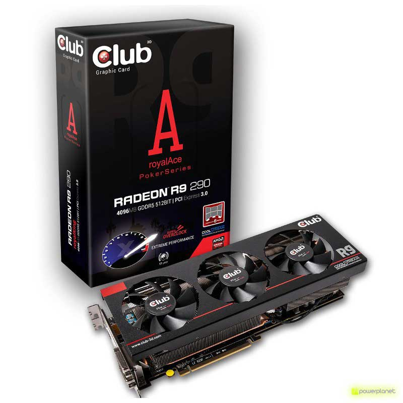 CLUB3D Radeon R9 290 royalAce - Item