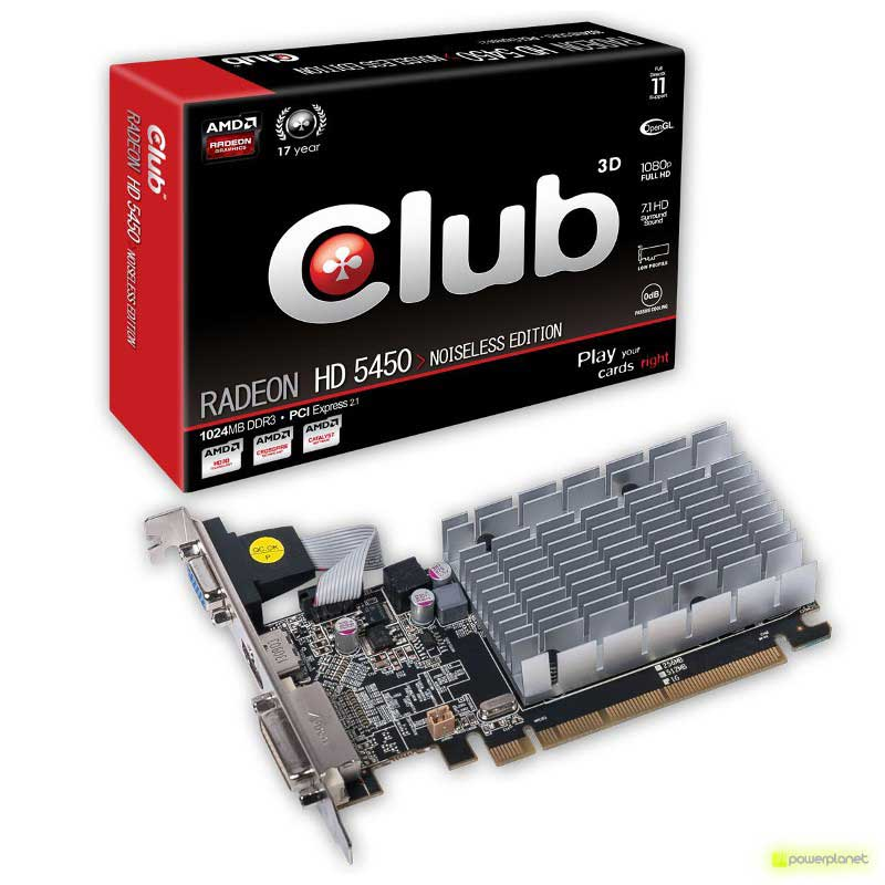 CLUB3D Radeon HD 5450 Noiseless Edition