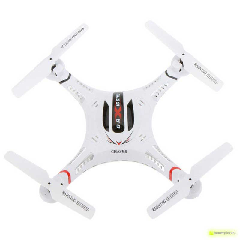 QuadCopter DFD F183 2.4GHz 6 Axis Gyro - Item1