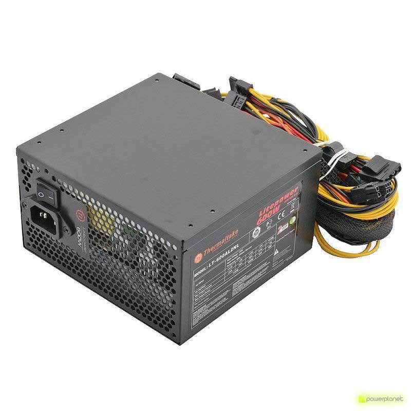 Fuente THERMALTAKE Litepower 600W PFC Activo Negra
