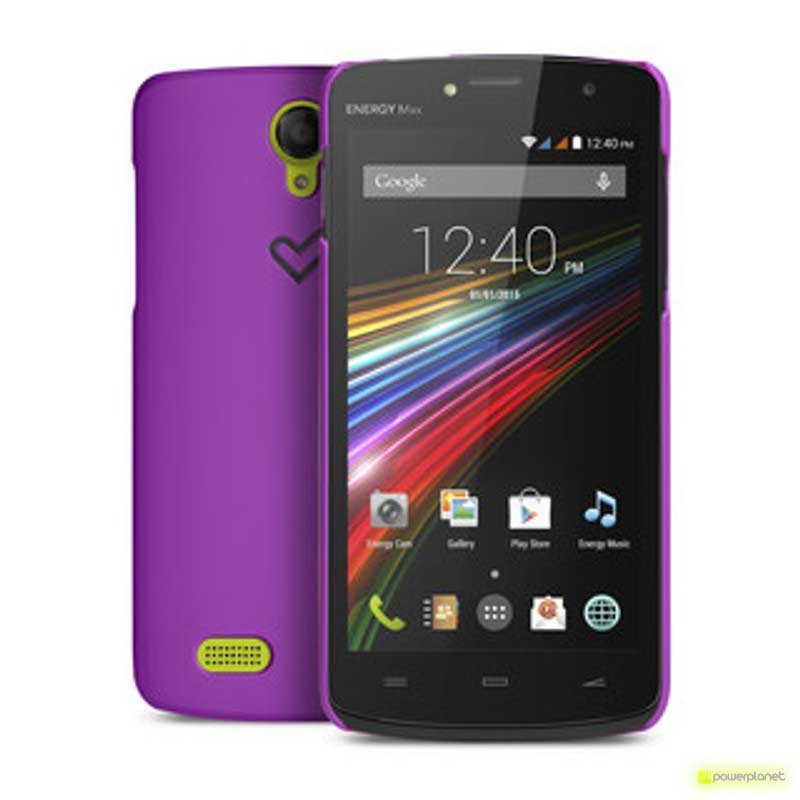 Funda Energy Phone Max Violeta - Ítem1