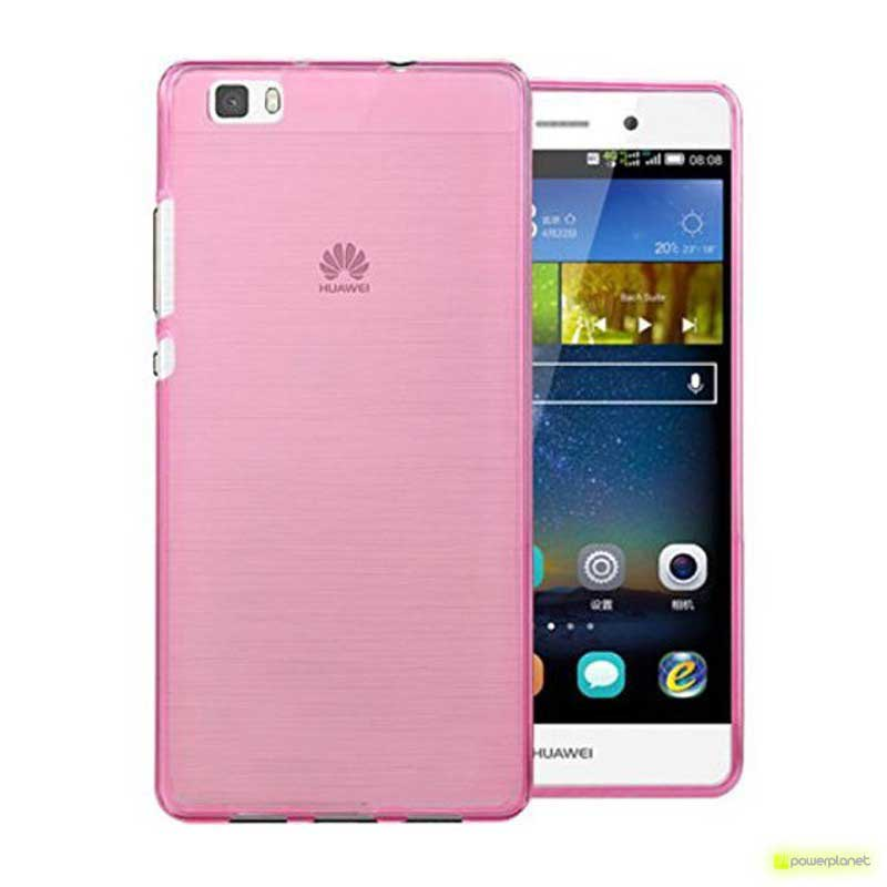 Funda de Silicona Huawei P8 Lite - Ítem1