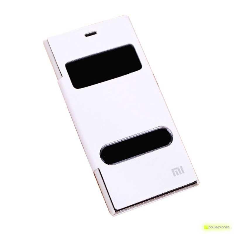 Capa Tipo Livro com dupla Janela Xiaomi Mi3 - Item1