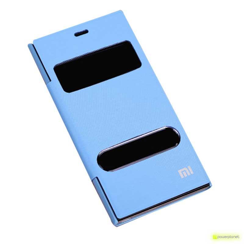 Capa Tipo Livro com dupla Janela Xiaomi Mi3 - Item2