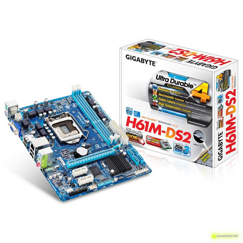 Gigabyte GA-H61M-DS2 placa base