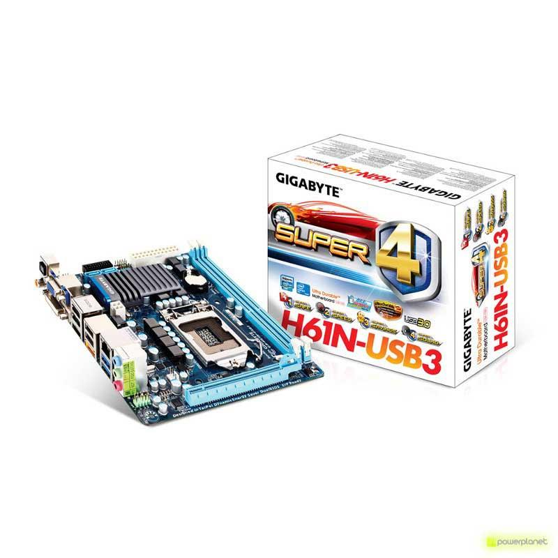 Gigabyte GA-H61N-USB3 motherboard