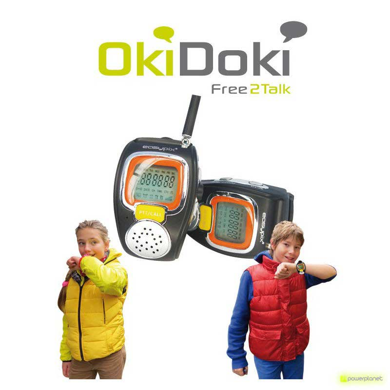 comprar reloj walkie talkie oki doki