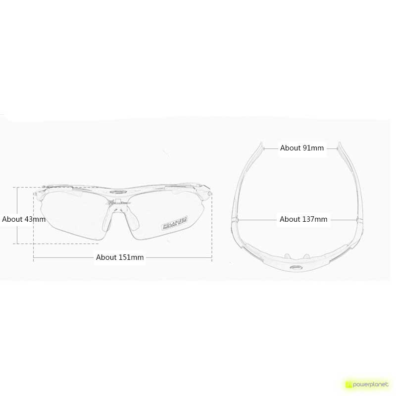 Gafas Ciclismo Polarizadas 10001 Rockbros - Ítem2