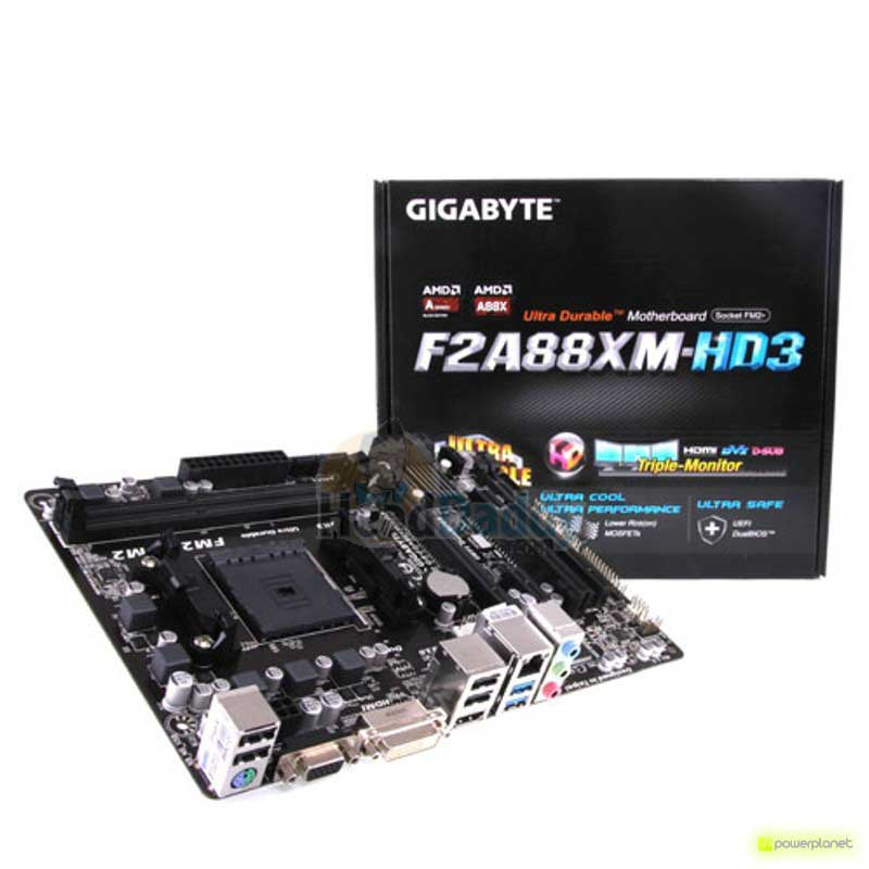 Gigabyte GA-F2A88XM-HD3 motherboard