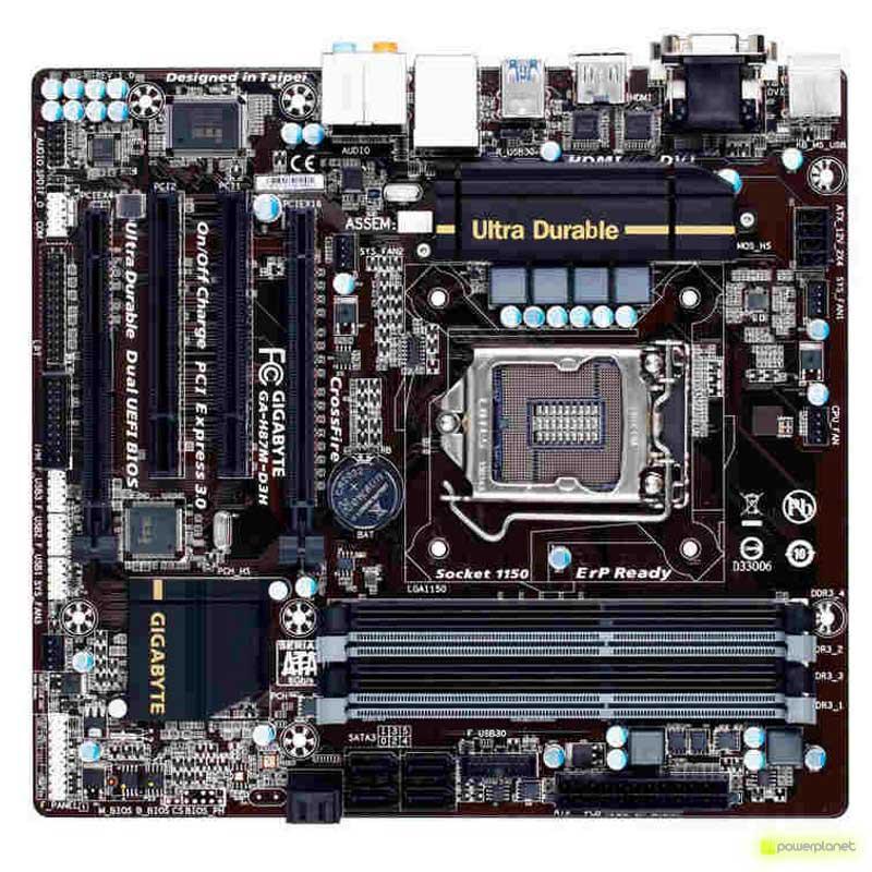 Gigabyte GA-H87M-D3H motherboard