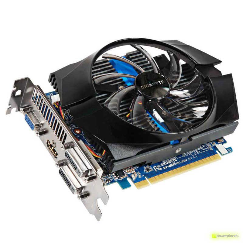 Gigabyte GeForce GTX 650 2GB OC - Ítem