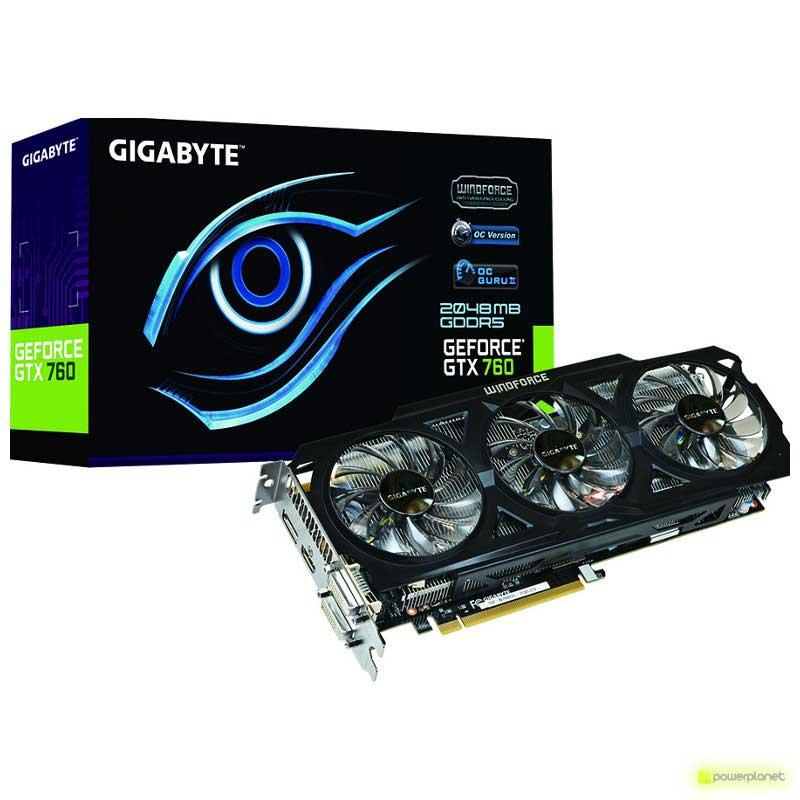 Gigabyte GV-N760OC-4GD video card