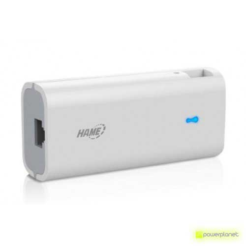 Hame Power Bank 4400 mAh con Router Wifi