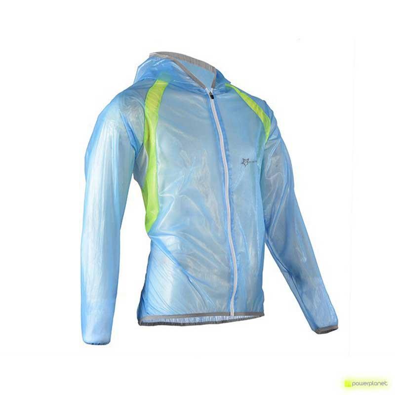 Jaqueta impermeável Azul Rockbros