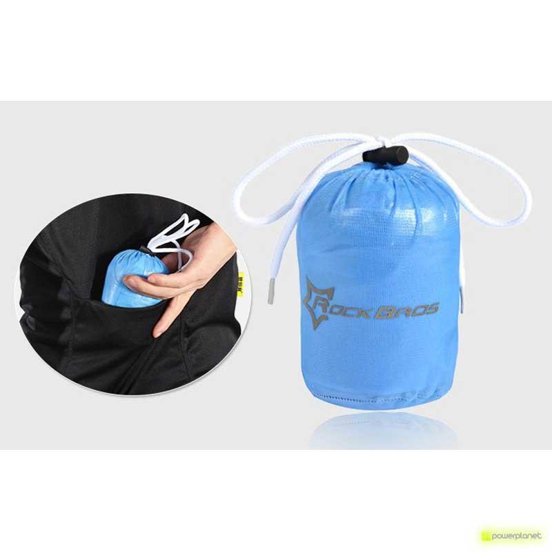 Jaqueta impermeável Azul Rockbros - Item5