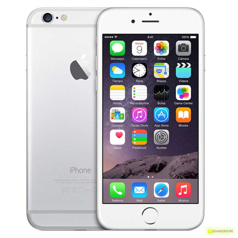 iPhone 6 64GB Plata - Clase A Reacondicionado