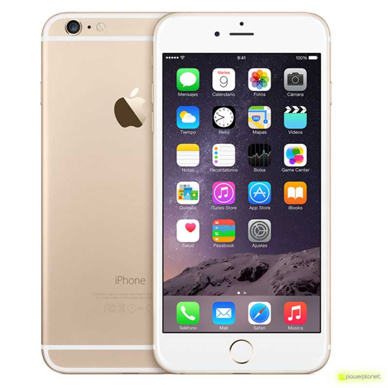 iPhone 6 Plus 128GB Oro Como Nuevo