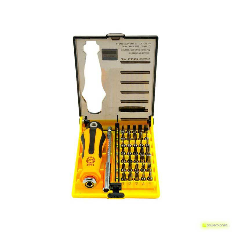 Jakemy JM-6091 37in1 Bit Set Professional Hardware Tools