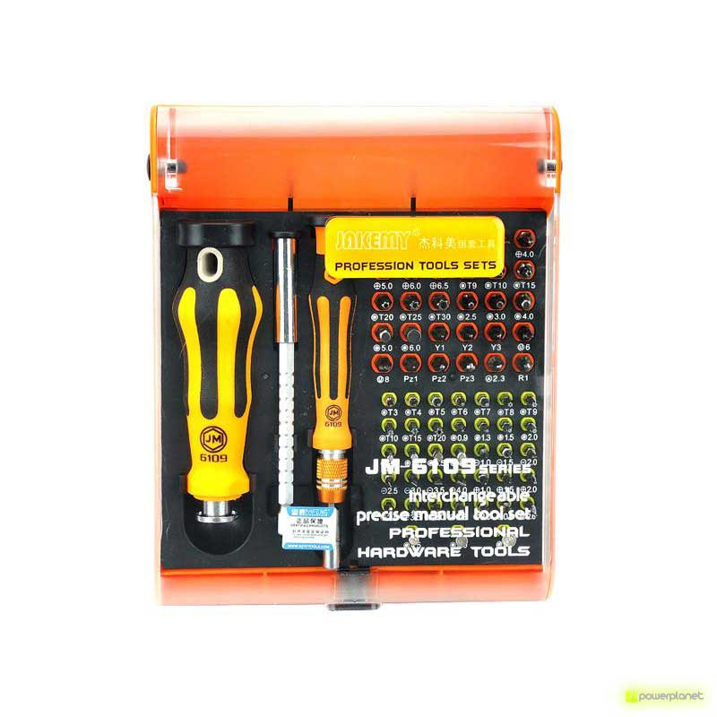 Jakemy JM-6109 72in1 Professional Hardware Tool Set