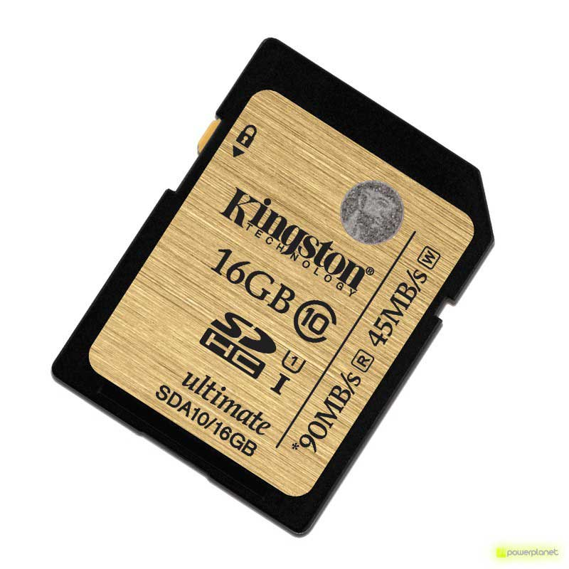Kingston Technology 16GB SDHC Ultimate UHS-I Card