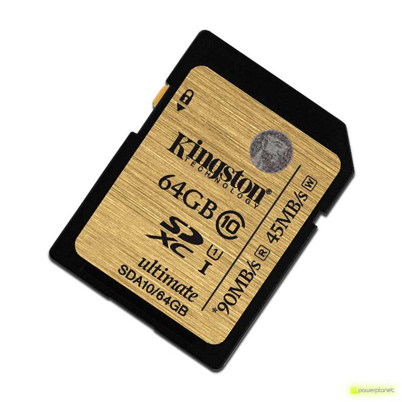 Kingston Technology 64GB SDXC Ultimate UHS-I Card