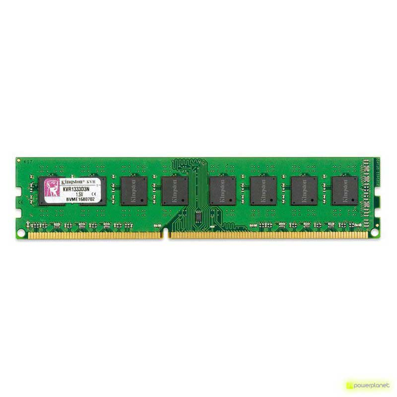 RAM Kingston Technology ValueRAM 8GB DDR3 1333MHz - Item