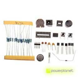Kit DIY relógio LED 4 Dígitos - Item1