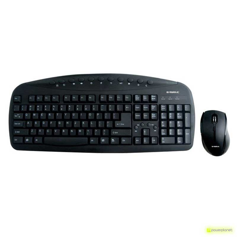 Teclado + Raton B-MOVE Double Touch - Ítem1