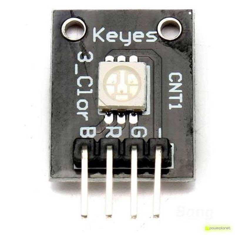 Módulo LED RGB SMD para Arduino