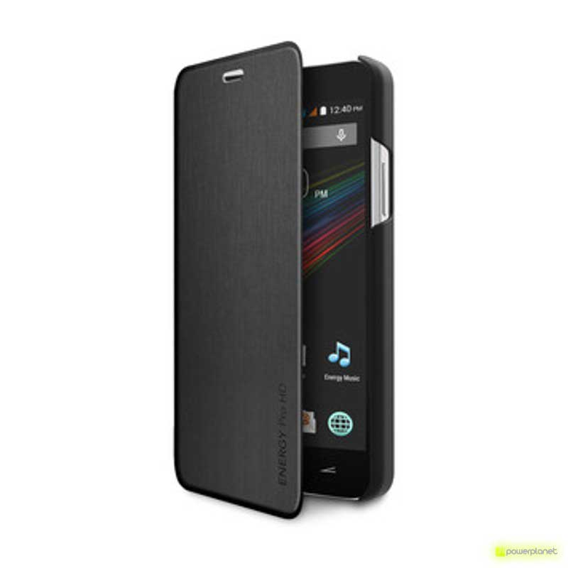 Funda Tipo Libro Energy Phone Pro HD Negro