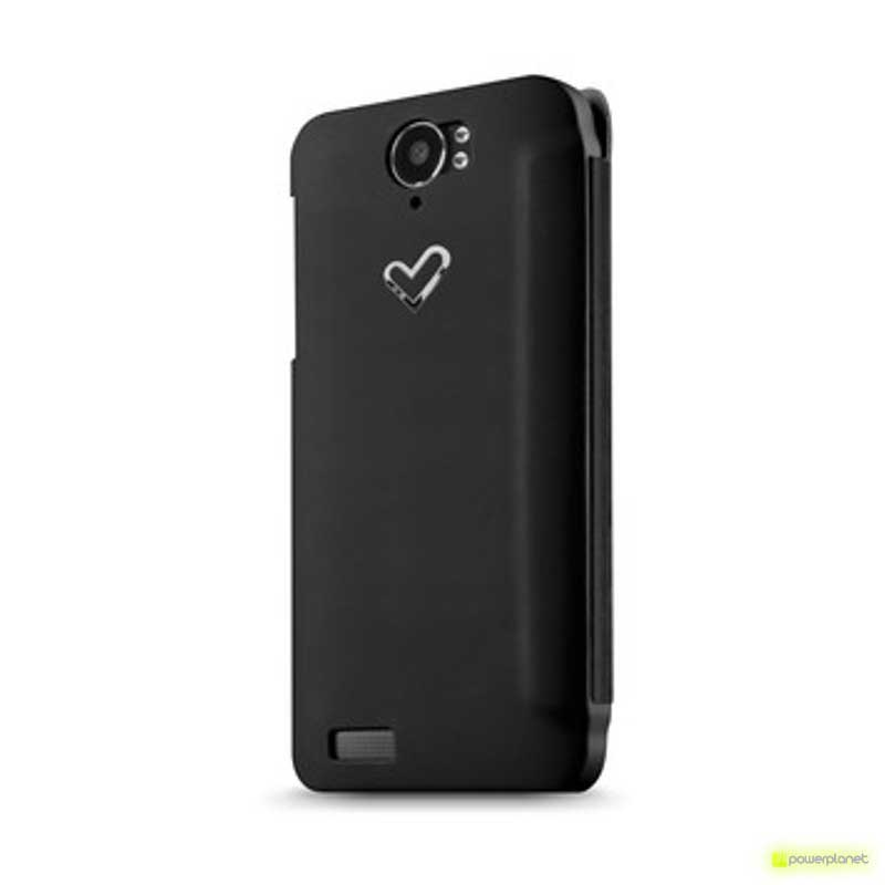 Case Tipo Livro Energy Phone Pro/ Pro Qi Preto - Item1