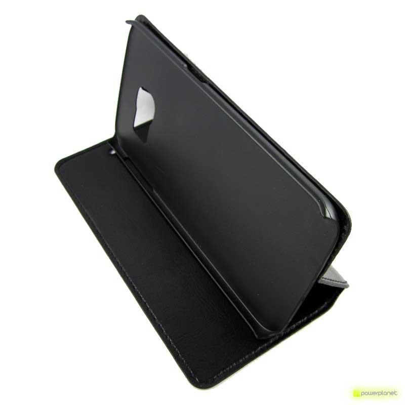 Tampa Tipo Livro Samsung Galaxy S6 Edge - Item2