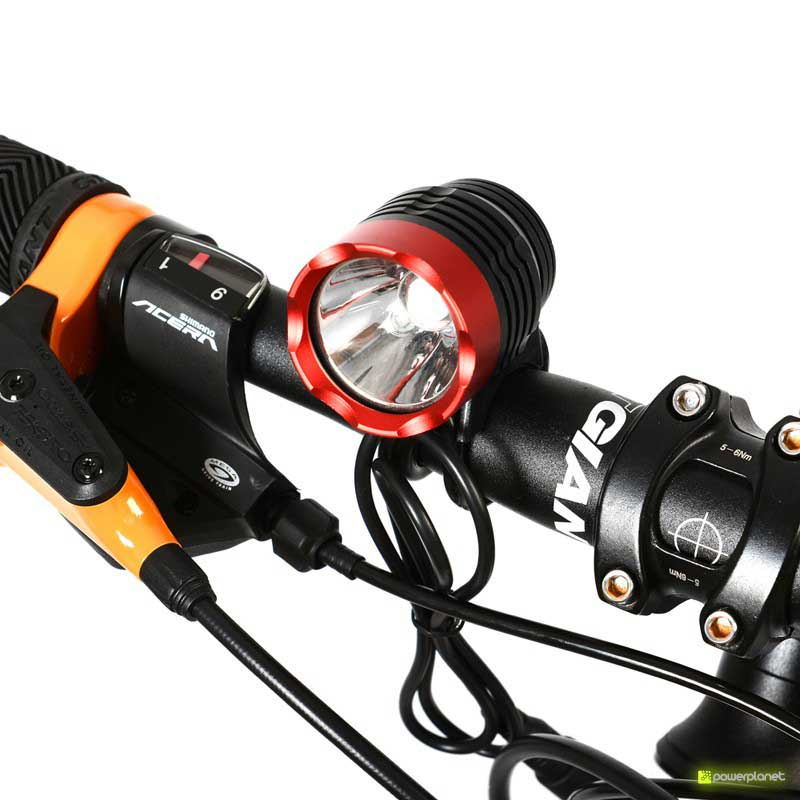 Front light 1200 lm Cree XM-L T6 Rockbros - Item2