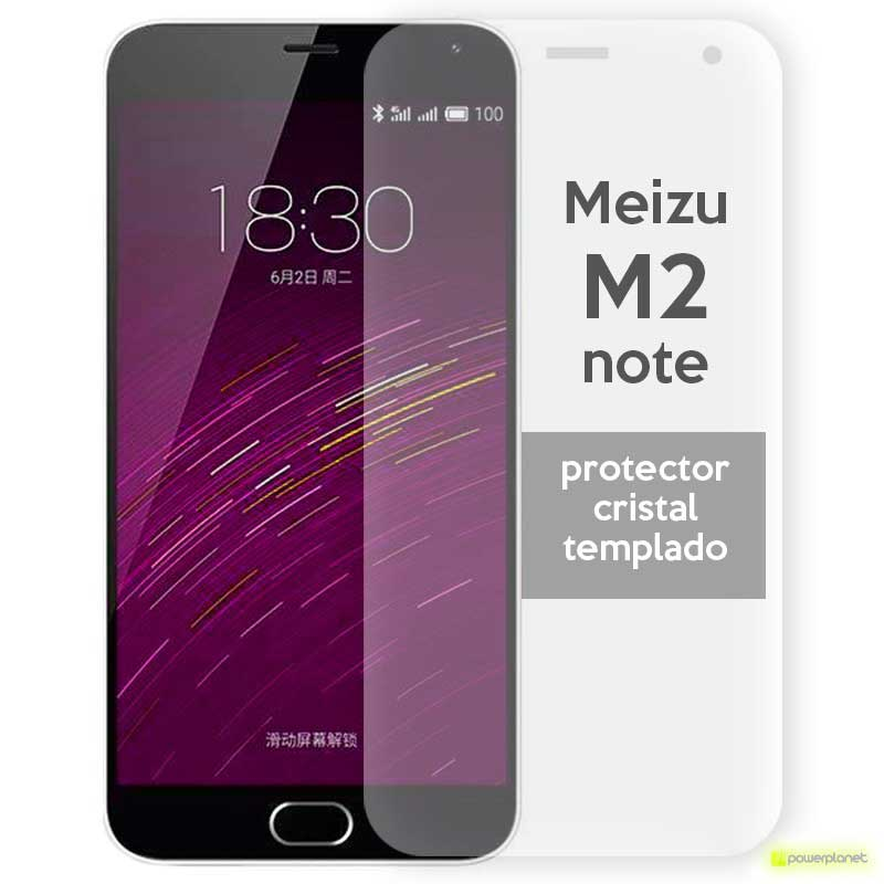 Protector de cristal templado Meizu M2 Note