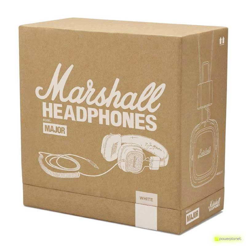 comprar auriculares marshall major hifi, comprar auriculares marshall, comprar auriculares profesionales, sonido profesional, headphones profesionales, cascos para música, auriculares música - Ítem6
