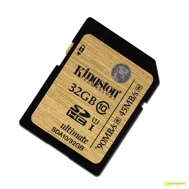 Cartão Memoria Kingston Technology 32GB SDHC Ultimate UHS-I Card