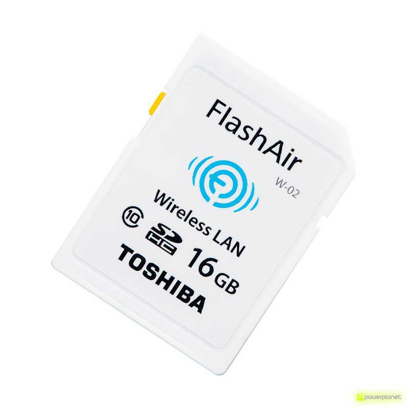 Toshiba FlashAir SD Wifi 16 GB
