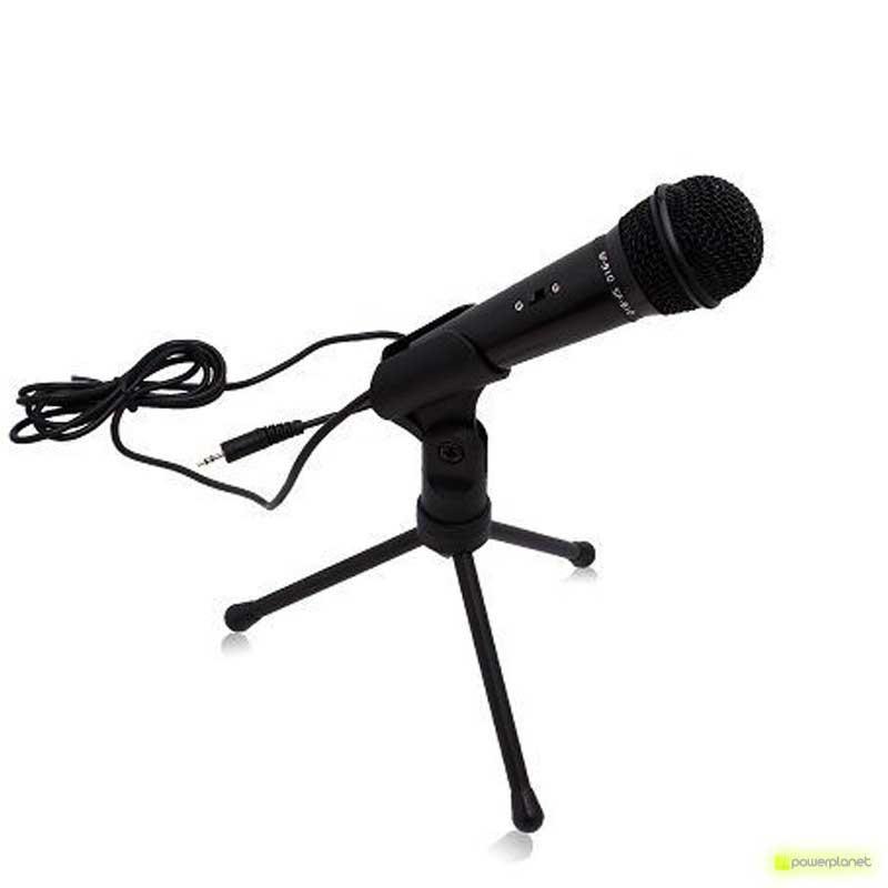 Micrófono con Base