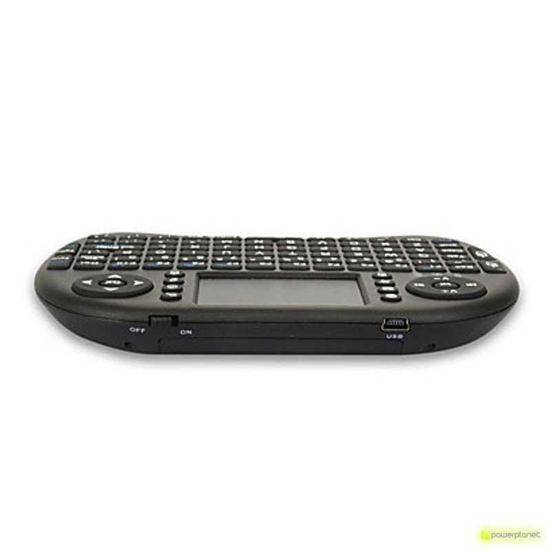 comprar mini teclado para tele, comprar mini teclado para TV, comprar teclado mini, comprar teclado pequeño, comprar teclado wifi, comprar teclado wireless, teclado a distancia, teclado rt-mwk08, teclado con ratón, teclado pequeño - Ítem2