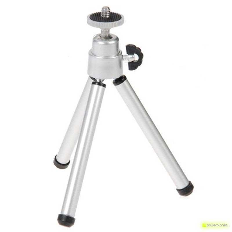 Mini-Tripode plateado para SJ4000/SJ5000 fotos
