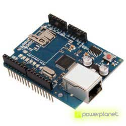 Ethernet module Shield W5100 with Micro-SD slot for Arduino - Item1