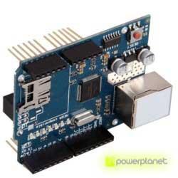 Modulo Ethernet Shield con ranura Micro-SD Para Arduino - Ítem2