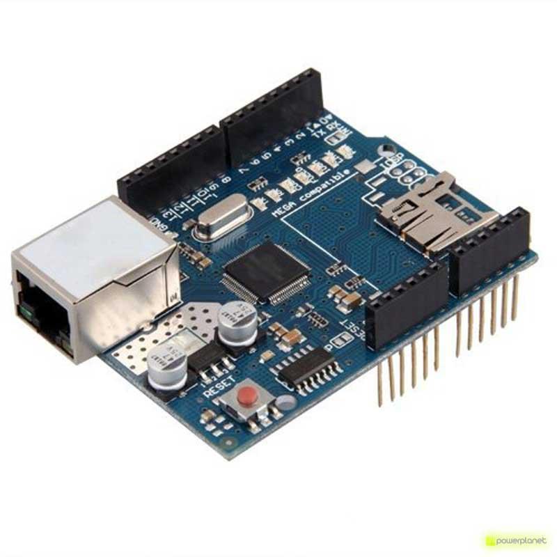 Modulo Ethernet Shield con ranura Micro-SD Para Arduino - Ítem4