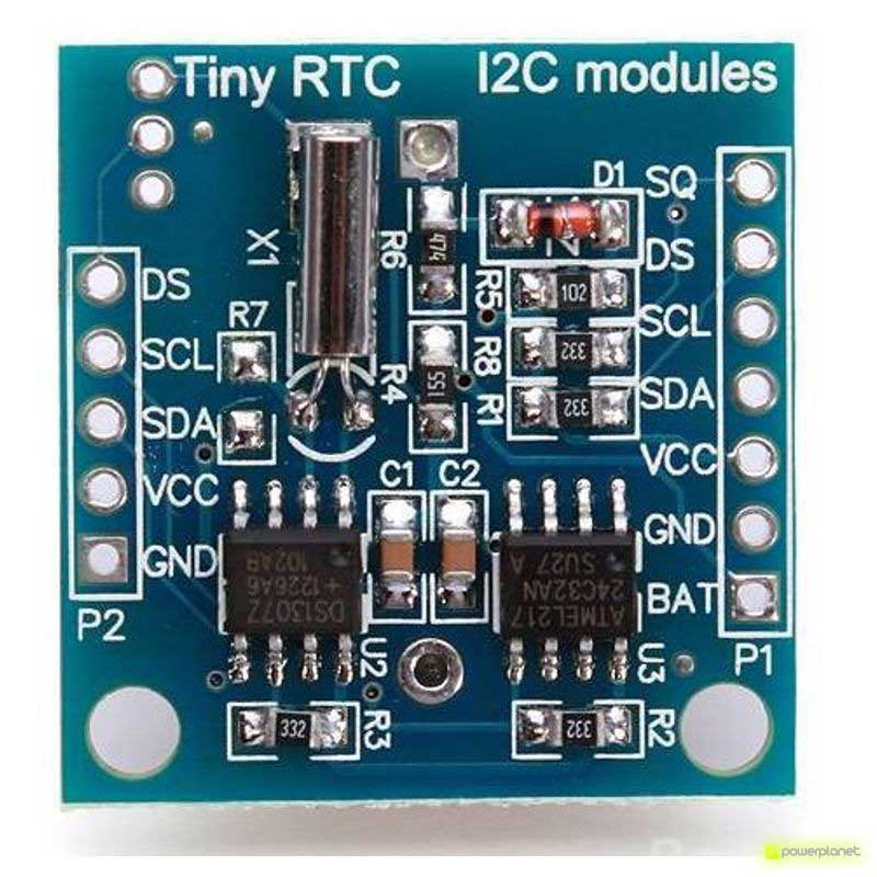 Módulo Reloj en Tiempo real DS1307 para Arduino - Ítem4