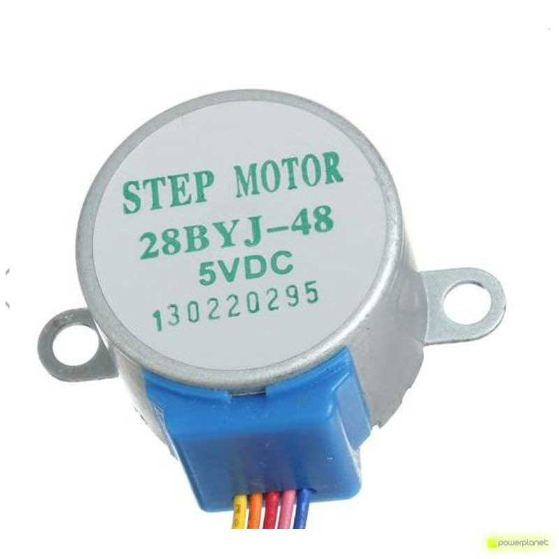Módulo controlar motores de passo ULN2003 + 5V Motor 28BYJ-48 - Item2